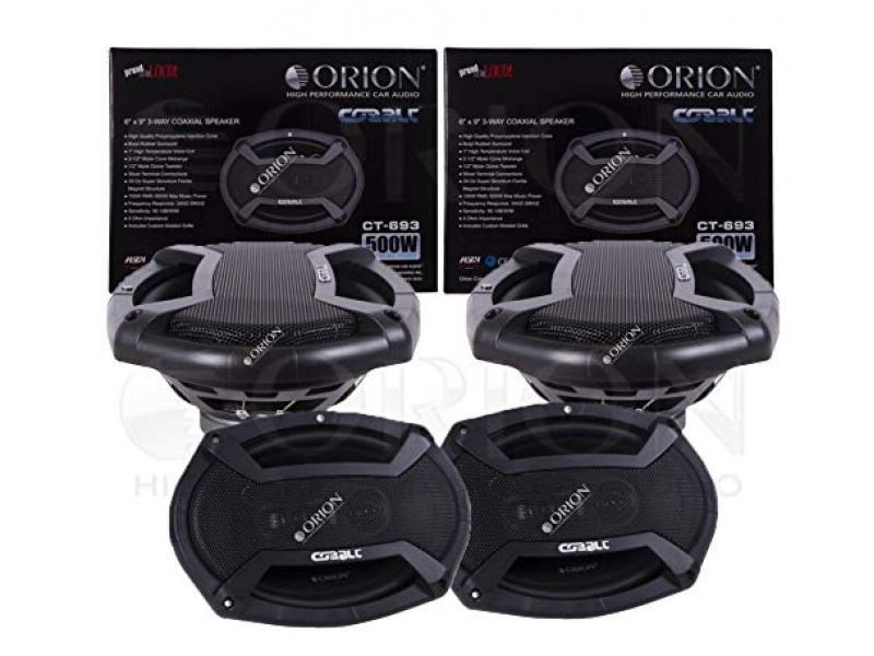 ORION Cobalt Series CT-693 6X9 3-Way COAXIAL Speaker