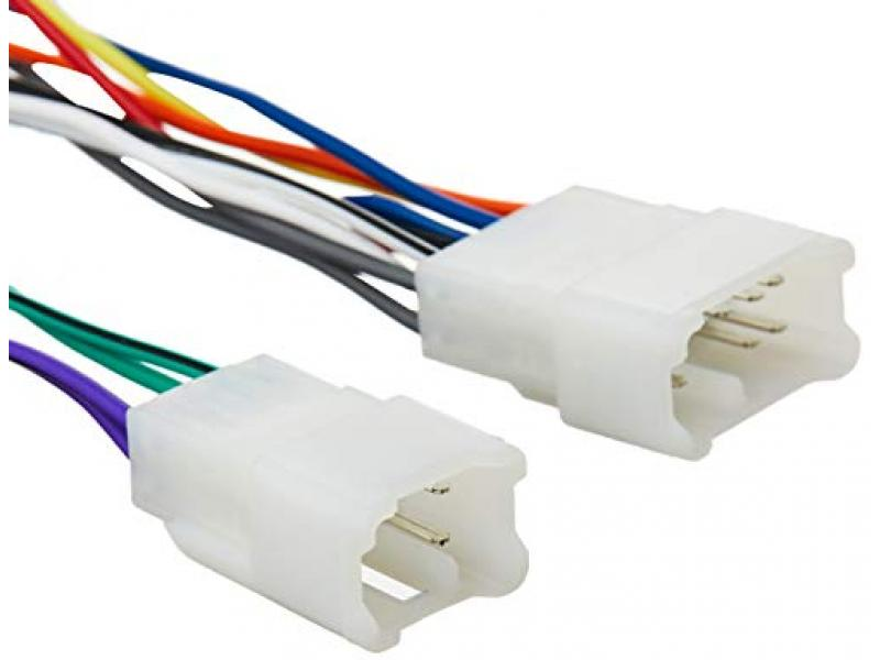 Scosche TA02B -  Power/Speaker Connector / Wire Harness