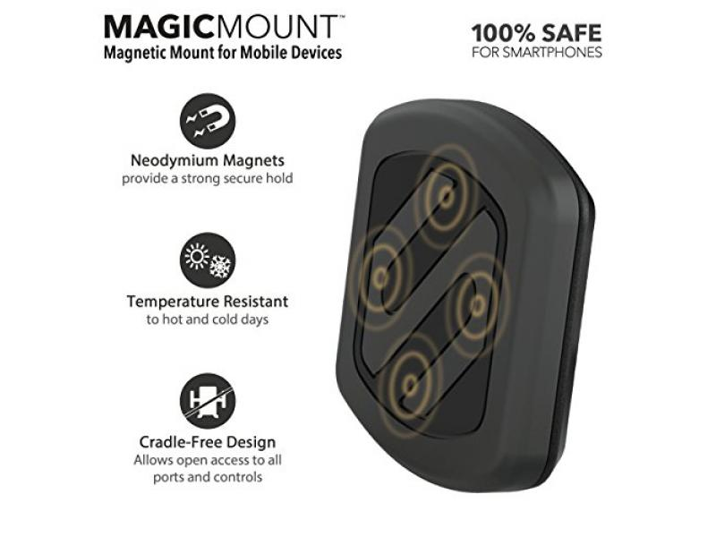 SCOSCHE MAGWSM2 MagicMount Universal Magnetic Phone/GPS Suction Cup Mount