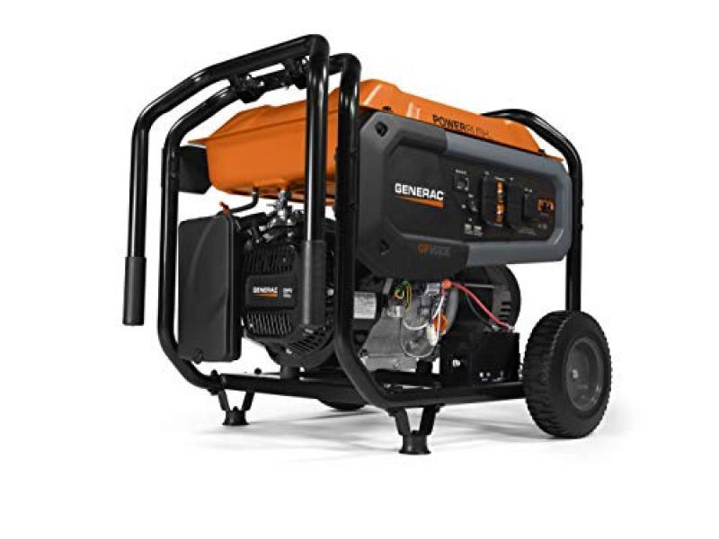 Generac 7676 GP8000E Portable Generator