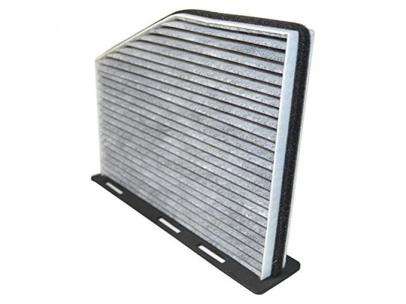 HQRP Carbon A/C Cabin Air Filter for Volkswagen VW Beetle 2012-2016, Golf 2010-2014 plus HQRP Coaster