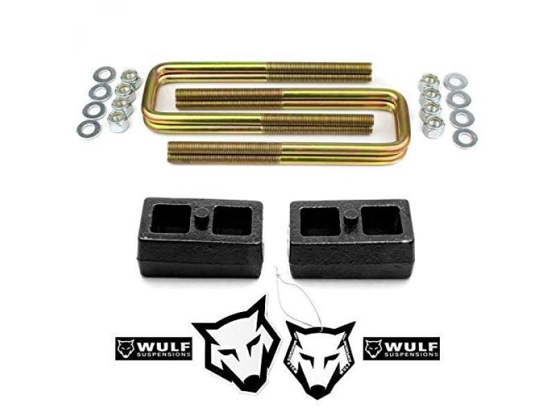 WULF 1 Rear Lift Kit with Blocks and U-bolts