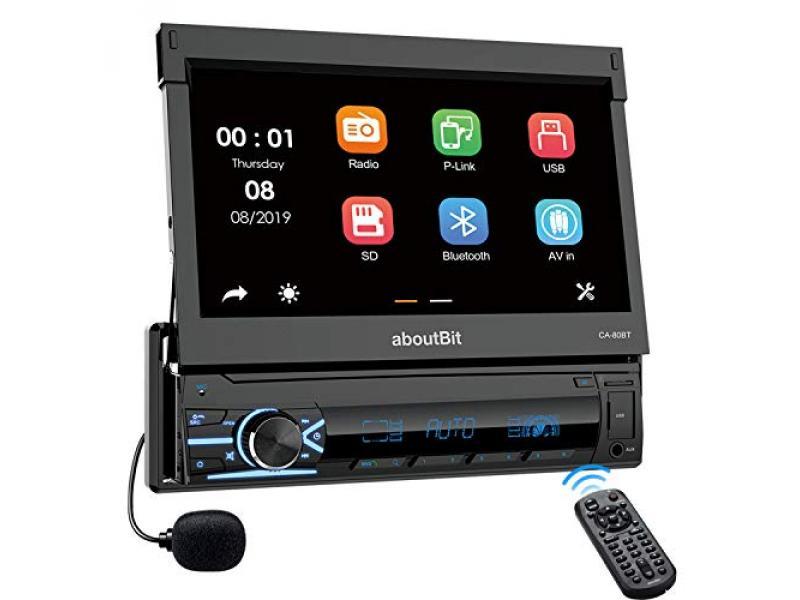 Single Din Bluetooth Car Stereo