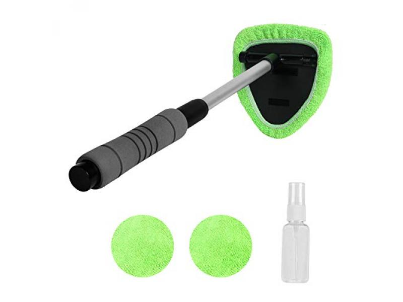 XINDELL Windshield Cleaner - Microfiber Car Window Cleaning Tool