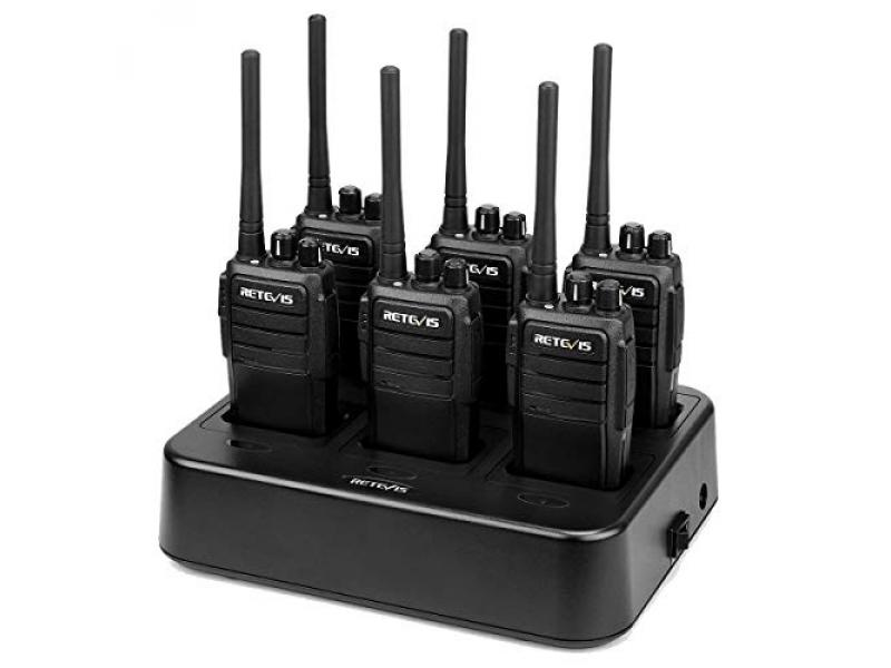 Case of 6,Retevis RT21 Walkie Talkies for Adults