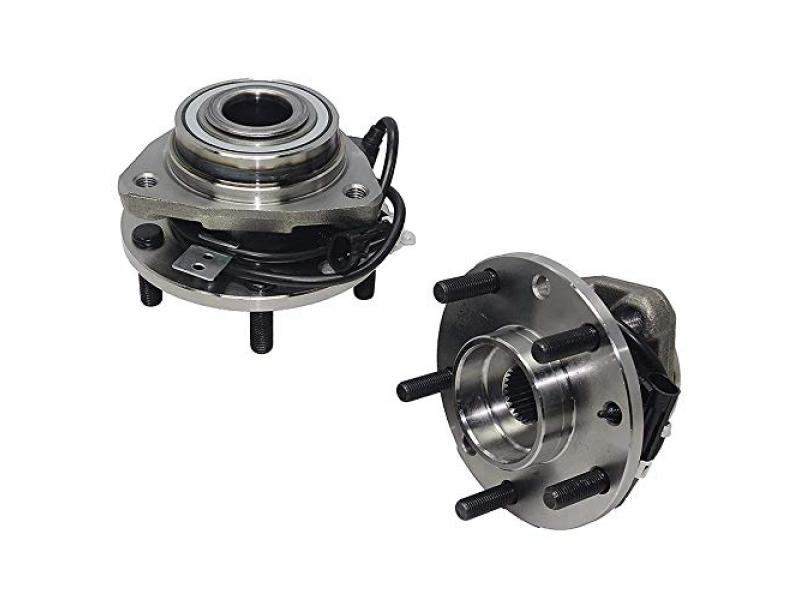 Detroit Axle - 4WD Front Wheel Hub & Bearings