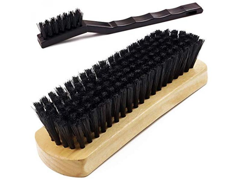 TAKAVU Leather & Textile Cleaning Brush