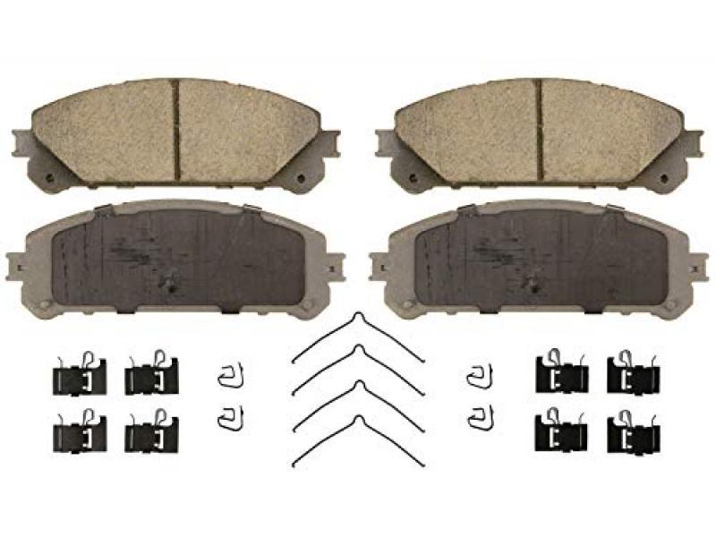 Wagner ThermoQuiet QC1324 Ceramic Disc Brake Pad Set