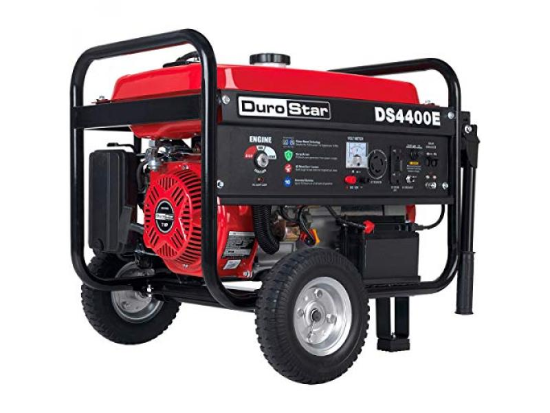 Durostar DS4400E Gas Powered Portable Generator - Red