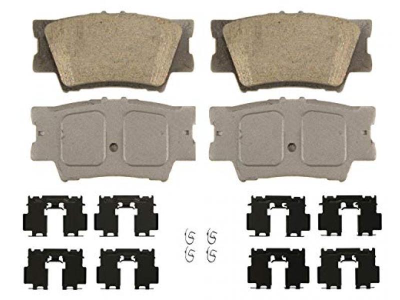 Wagner ThermoQuiet QC1212 Ceramic Disc Brake Pad Set