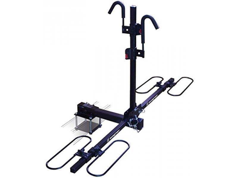 Swagman Bicycle Carrier TRAVELER XC2 RV Approved Hitch Mount Bike Rack