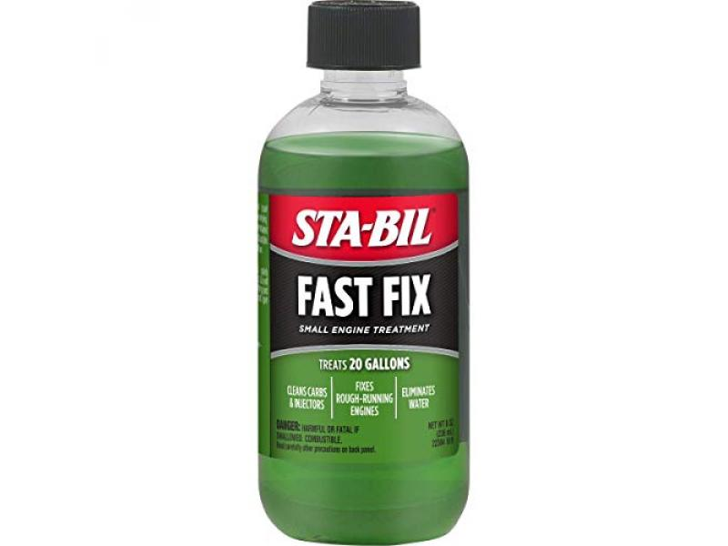STA-BIL Fast Fix Small Engine Treatment - Cleans Carbs and Injectors