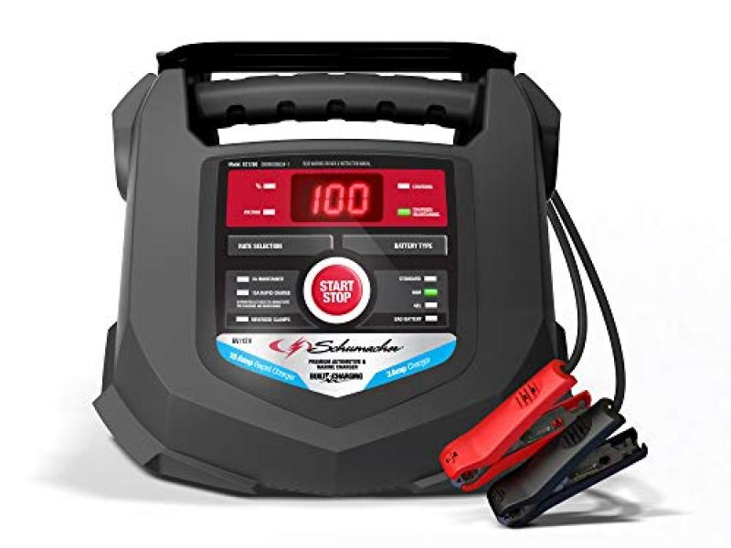Schumacher Fully Automatic Battery Charger and Maintainer