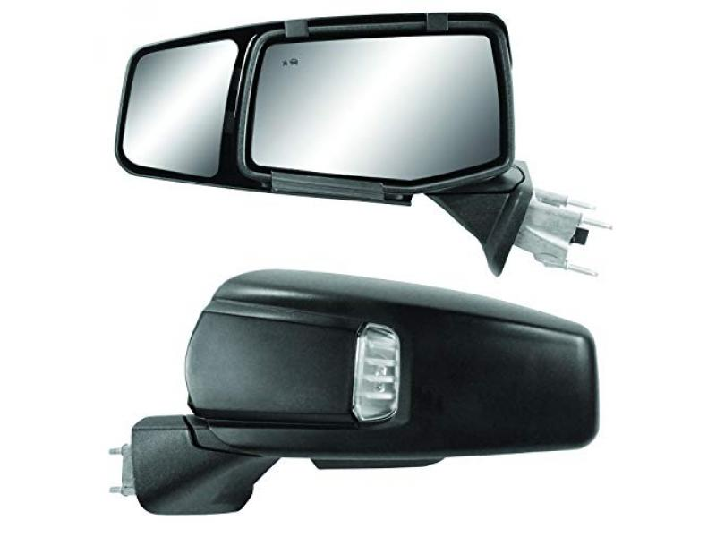 Snap & Zap Custom Fit Towing Mirror Pair