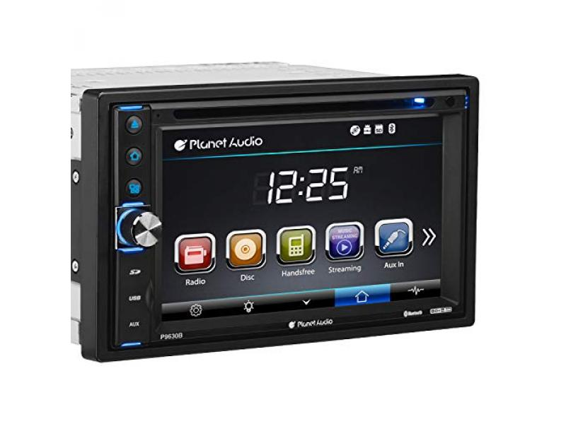 Planet Audio P9630B Car DVD Player - Double Din