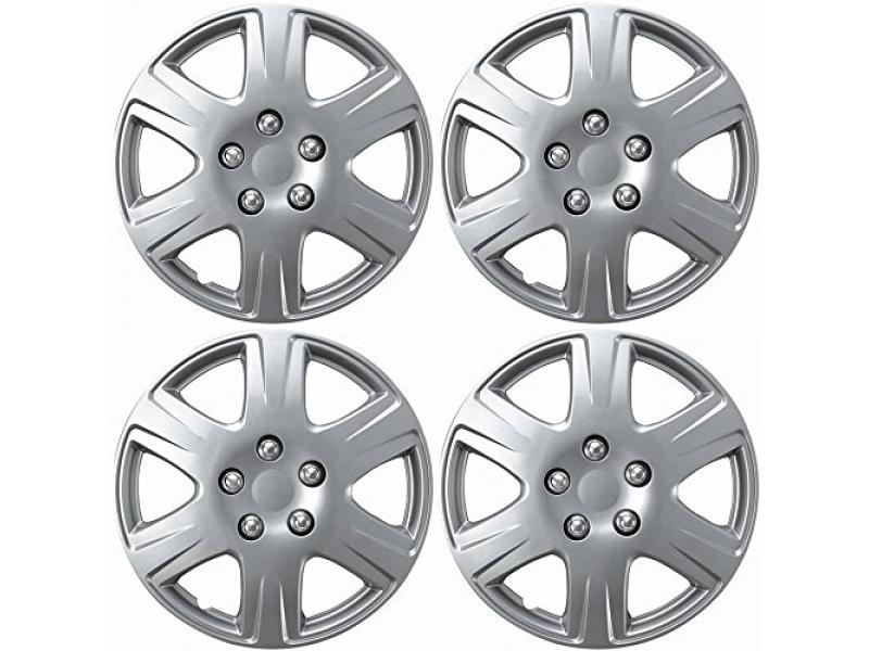 OxGord 15 inch Snap On Hubcaps