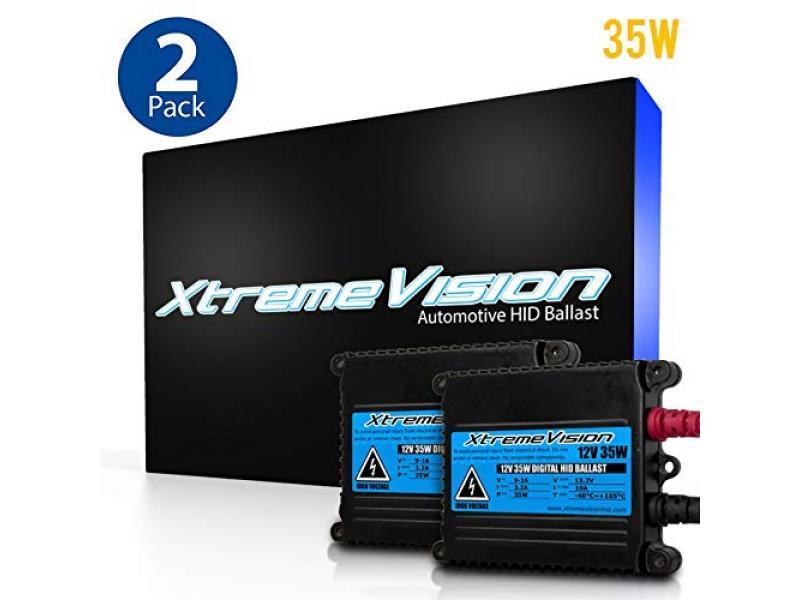 XtremeVision DC 35W HID Xenon Premium Slim Ballast (Pair - 2 PCS)
