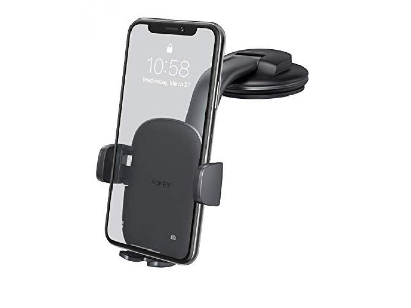 AUKEY Car Phone Mount [Strong Suction]
