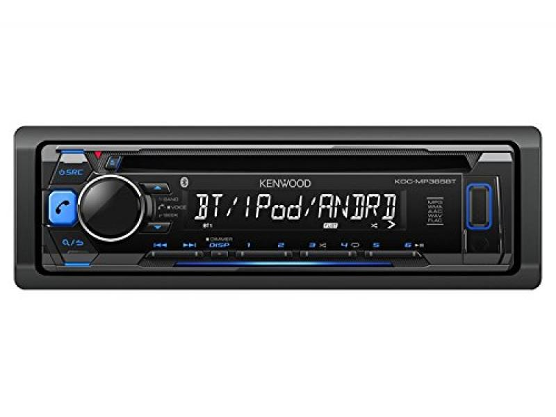 Kenwood Car Single DIN in-Dash CD MP3 Stereo Receiver