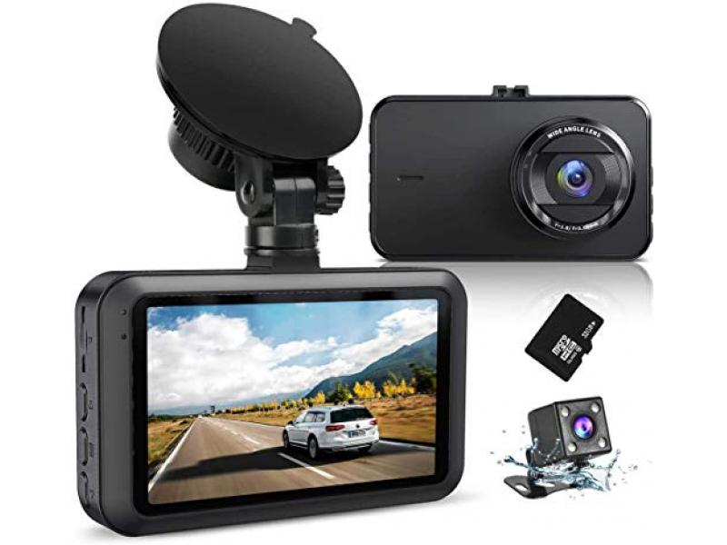 Dash Camera for Cars Front Recorder with SD Card
