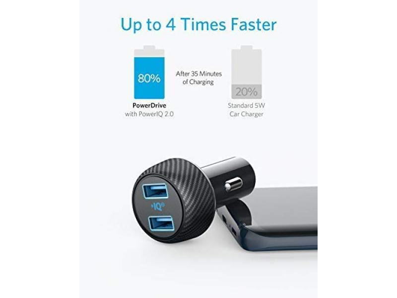 Anker 30W Dual USB Car Charger