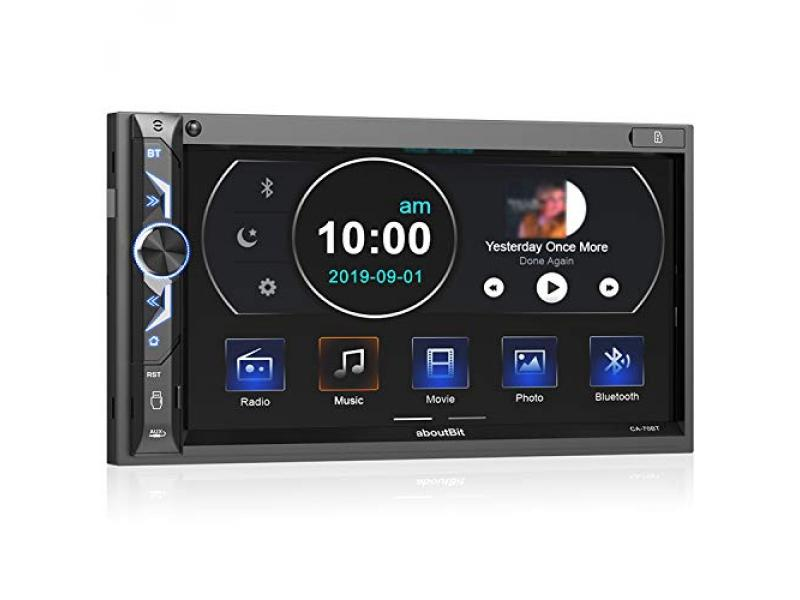 7 inch Double Din Digital Media Car Stereo Receiver