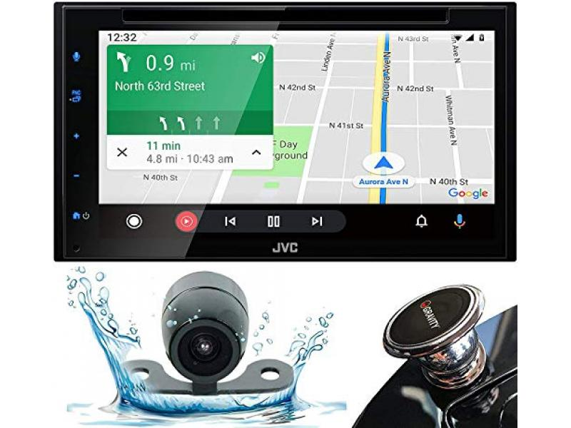 JVC Bluetooth Car Stereo Receiver with USB – 6.8
