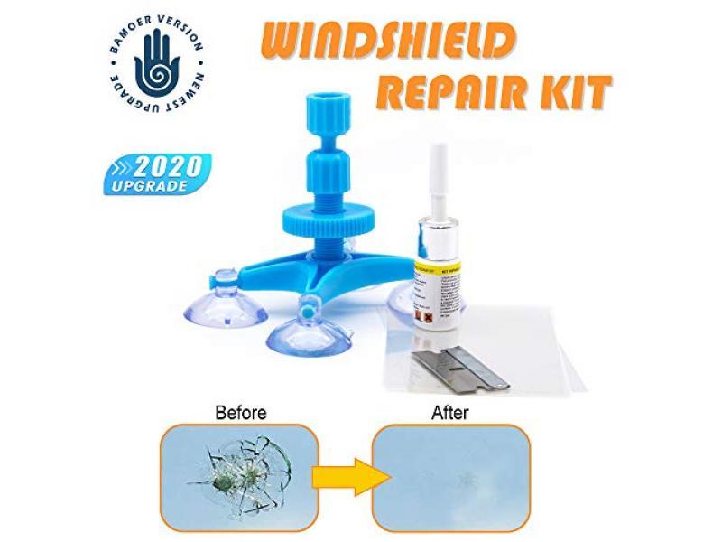 (NEW VERSION) Windshield Repair Kit