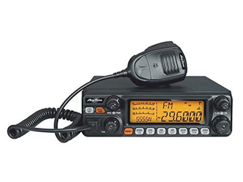 AnyTone AT-5555N 10 Meter Radio for Truck