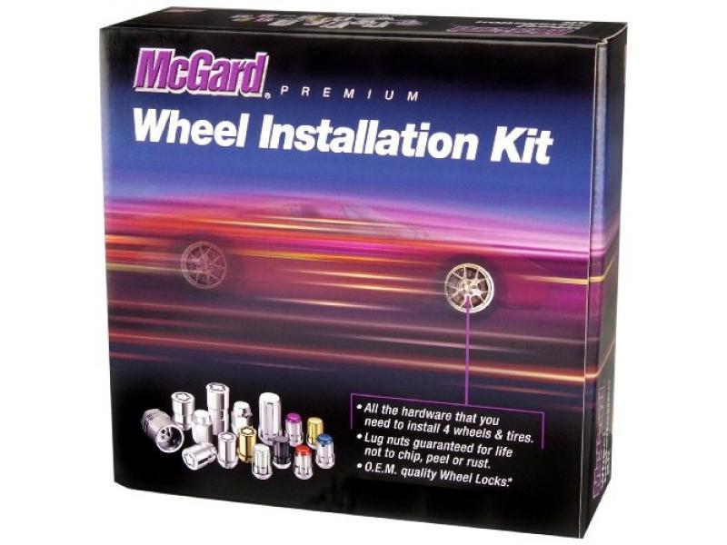 McGard 84527 Black Cone Seat Wheel Installation Kit