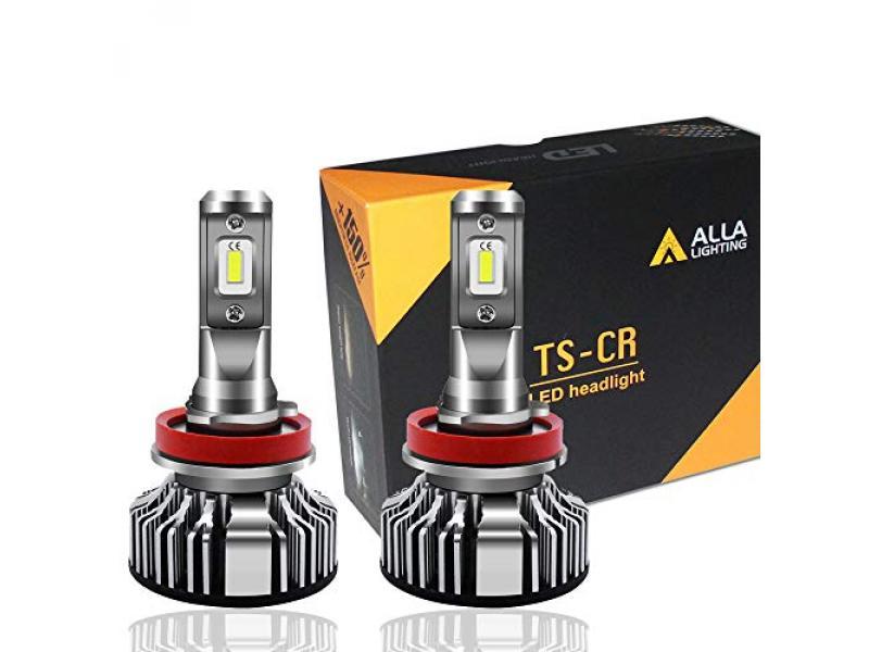 Alla Lighting 10000 Lumen H11 LED Bulbs