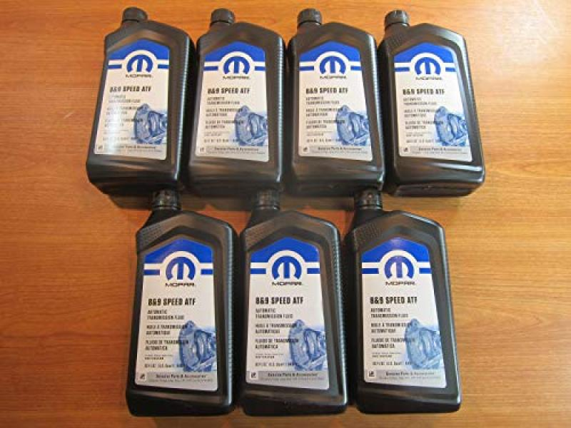 Mopar Chrysler Dodge Jeep Ram 8 and 9 Speed Automatic Transmission Fluid New 7 Quarts
