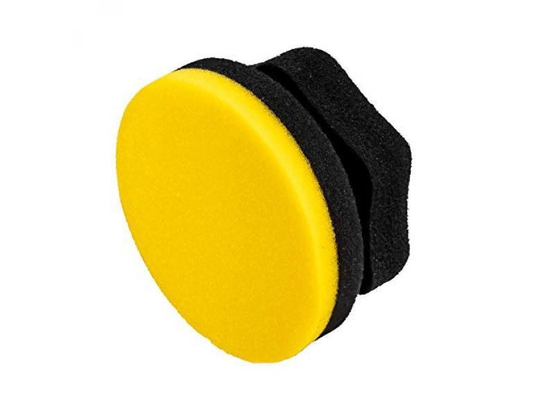 Adams Yellow Hex Grip Car Wax Foam Applicator
