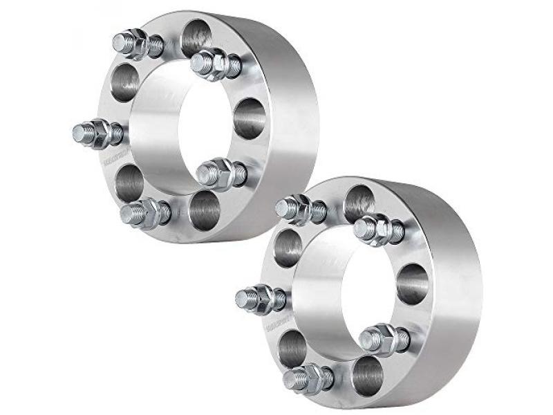 ECCPP 2X 2 inch 5x114.3mm 50mm Wheel Spacers 5 Lug 5x4.5 to 5x4.5 82.5mm