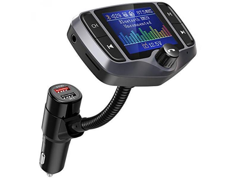 Nulaxy Bluetooth FM Transmitter for Car
