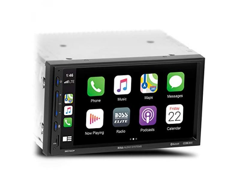 BOSS Audio Systems Elite BE7ACP Car Multimedia Player with Apple CarPlay