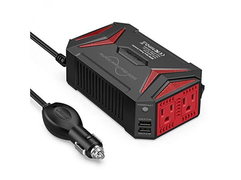 BESTEK 300Watt Pure Sine Wave Power Inverter