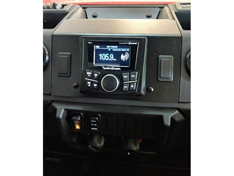 2018-2021 Polaris Ranger XP 1000/1000 Dash Mounted Audio Radio Kit (PMX-2)