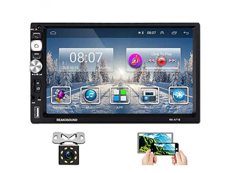 Hikity Double Din Android Car Stereo with Bluetooth