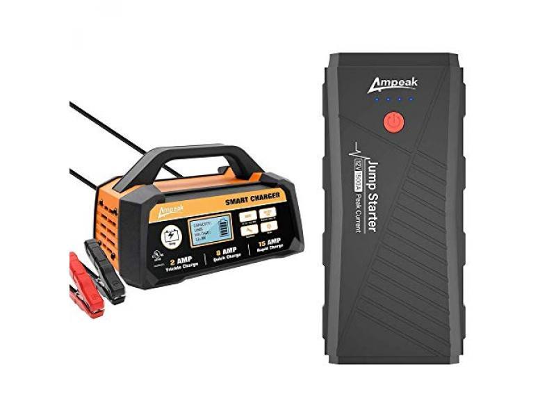 Ampeak Car Battery Charger Jumper Starter
