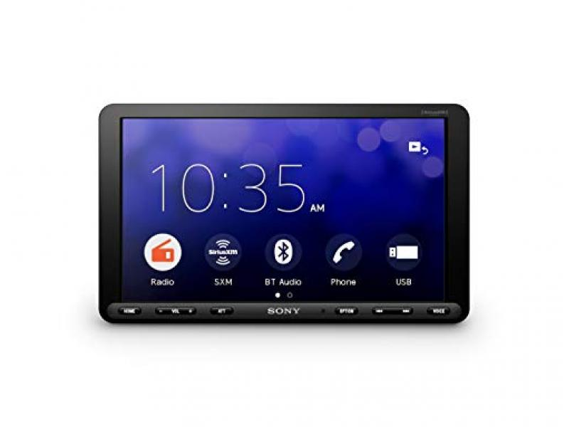 """Sony XAV-AX8000 1DIN chassis 8.95"""" floating LCD screen with Apple Car Play"""
