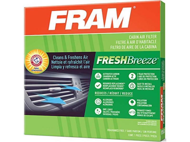 FRAM Fresh Breeze Cabin Air Filter with Arm & Hammer Baking Soda