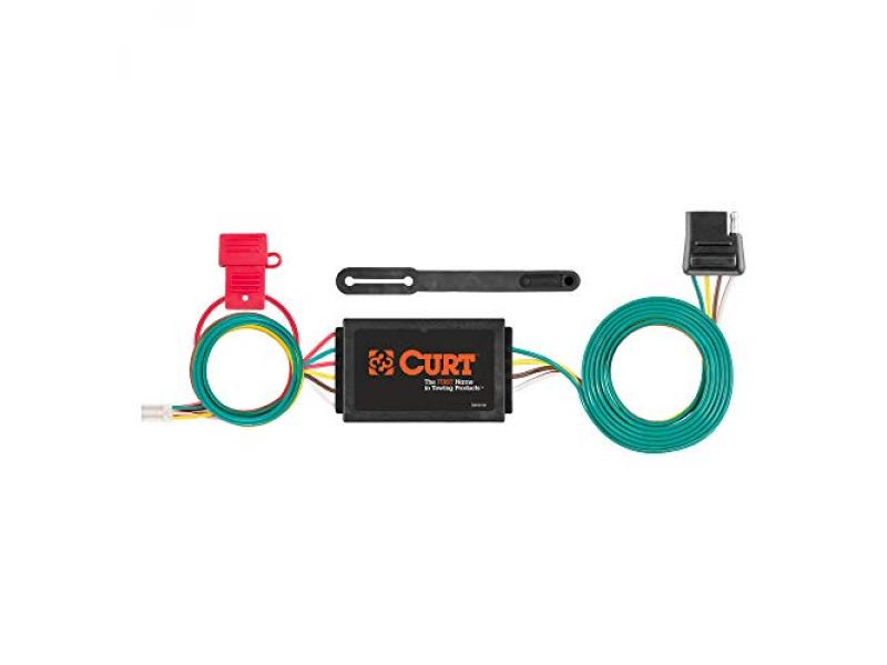 CURT 56370 Vehicle-Side Custom 4-Pin Trailer Wiring Harness
