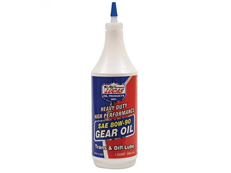 Lucas Oil LUC10043 Oil SAE 80W-90 Heavy Duty Gear Oil