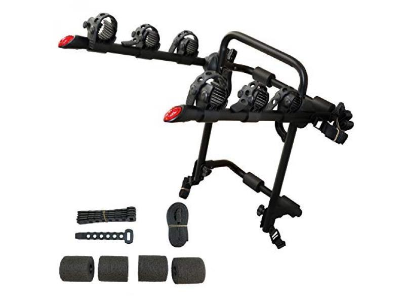 KAC Sport T3 Trunk Mounted 3-Bike Carrier Rack