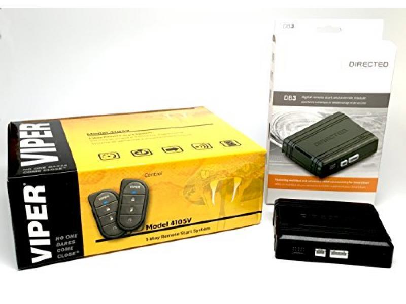Click & ADD Viper 4105V Remote Car Starter 1-Way