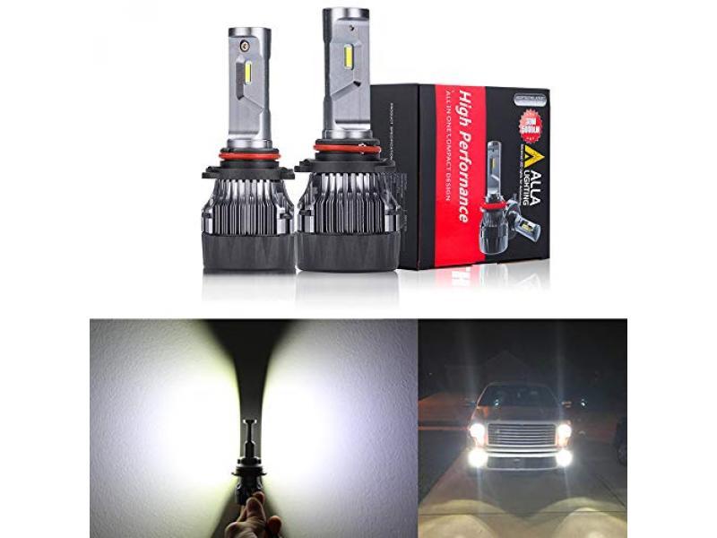 Alla Lighting S-HCR HB3 9005 LED Headlights
