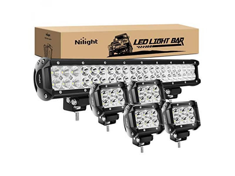 126W Spot Flood Combo Led Light Bar