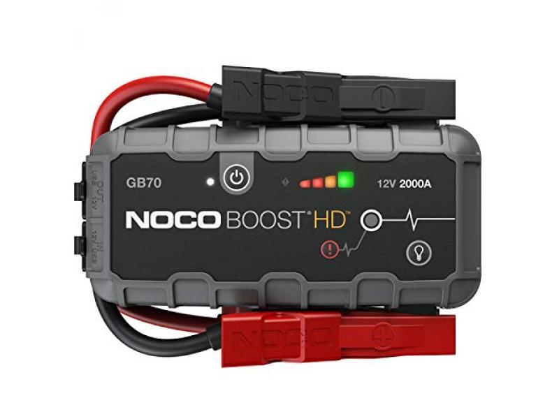 NOCO Boost HD GB70 2000 Amp 12-Volt UltraSafe Lithium Jump Starter Box