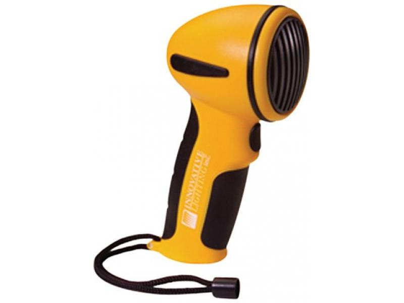 Innovative Lighting Yellow Hand Held Electric Horn
